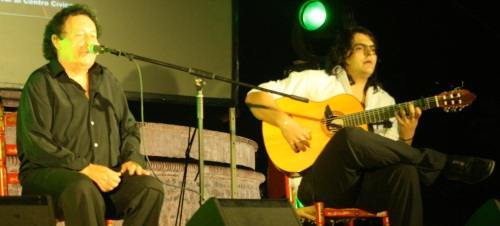 RAFAEL MUÑOZ EN EL FESTIVAL MANUEL EL RUSO