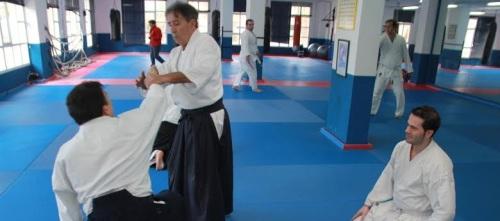 Seminario de Aikido impartido por el maestro Francisco Lebrón