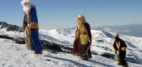 Sierra Nevada se prepara para recibir a los Reyes Magos con 46 kilómetros esquiables