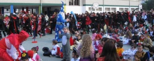 Carnaval en el CP San Miguel de Almuñécar 2014