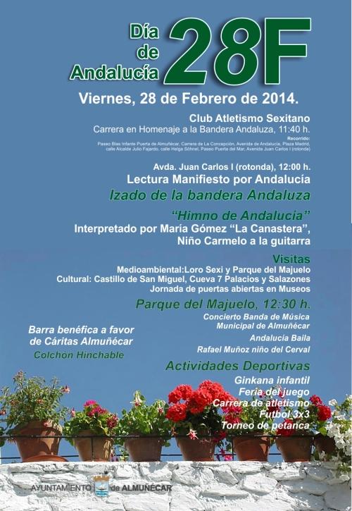 Almuñécar celebra el Día de Andalucía con un amplio programa de actos
