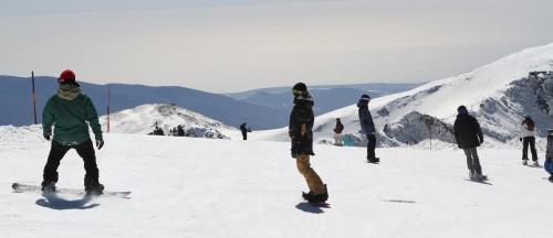 Sierra Nevada acondiciona el halfpipe para su apertura el fin de semana