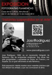 Joss Rodríguez inaugura hoy una exposición de fotografías flamencas