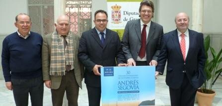 La Diputación Provincial y La Herradura presentan el XXX Certamen Internacional de Guitarra Clásica Andrés Segovia