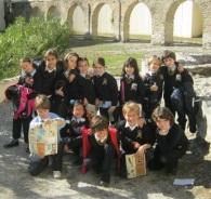 Los alumnos del Almuñécar International School realizaron la visita didáctica para conocer el pasado de Sexi