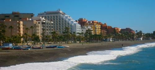 Playa de San Cristóbal de Almuñécar