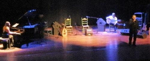 """Rafael Muñoz """"El Niño del Cerval"""" volvió a cautivar a sus paisanos con una gran actuación en la Casa de la Cultura"""