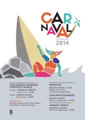 Cartel Carnaval La Herradura 2014