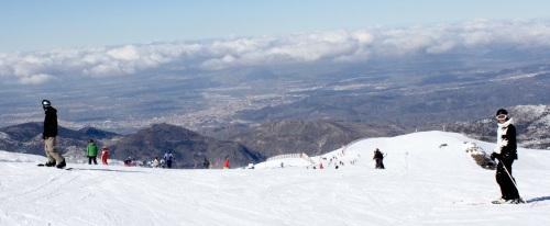 Una nevada repone la calidad de nieve en las pistas de Sierra Nevada
