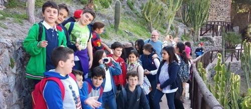 Unos 110 alumnos del CEIP San José de Vélez Málaga visitan Almuñécar
