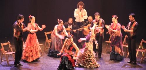 El Ballet Flamenco de Andalucía enamora en Almuñécar