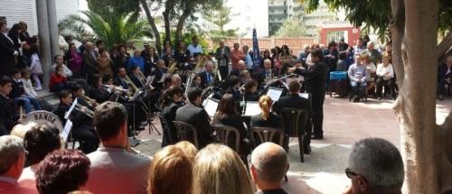 Concierto de San José de la Banda Municipal de Música de Almuñécar 2014