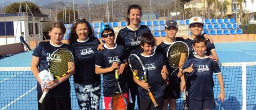 Campeonato de Andalucía: Buen inicio de los alevines del Club de Tenis CT