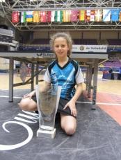 Estatal 2014. Lucia Lopez CAMPEONA benjamin del torneo.