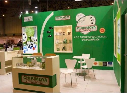 La Chirimoya y otros productos con D.O. andaluces juntos en Gourmets 2