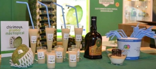 La Chirimoya y otros productos con D.O. andaluces juntos en Gourmets