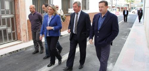 Mancomunidad de la Costa Tropical invierte 97.772€ en la calle Horno Pan Cocer de Almuñécar