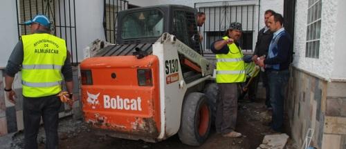 Obras para completar la rehabilitación de la calle Puerta de Vélez