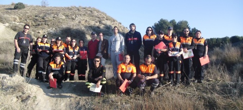 PARTICIPANTES CURSO CARTOGRAFIA PROTECCION CIVIL EN MADRID 14 2