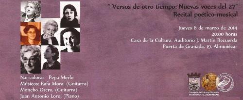 RECITAL POETICO MUSICAL EN ALMUÑECAR 2