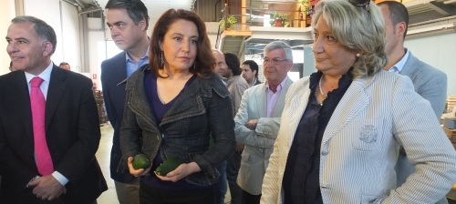 ALCALDESA Y CARMEN CRESPO EN NOVOFRUT HOY 14 2