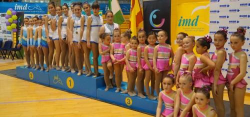 La Escuela de Gimnasia Rítmica de Almuñécar consigue cuatro podios en Campeonato de Andalucía Promesas celebrado en El Ejido