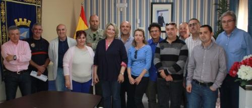 JUNTA PERSONAL Y COMITE DE EMPRESA AYTO ALMUÑECAR  CON EQUIPO DE GOBIERNO 2