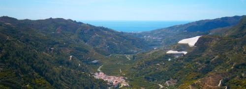 Panorámica sobre el Valle del Río Verde