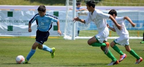 Granada golea en el arranque del Campeonato Alevín Fútbol 7