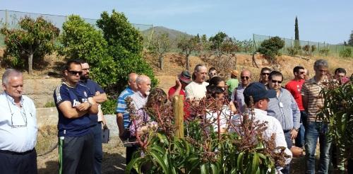 AGRICULTORES EN LA VISITA A LA NACLA 14 2