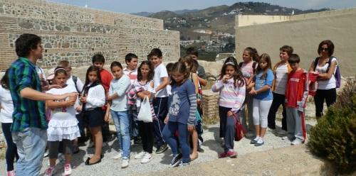 Alumnos de Armilla se interesaron por la historia de Almuñécar
