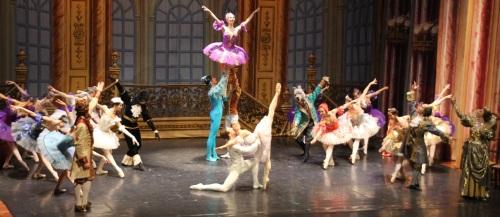 """Rotundo éxito del Ballet de Moscú con la presentación en Almuñécar de """"Bella Durmiente"""""""