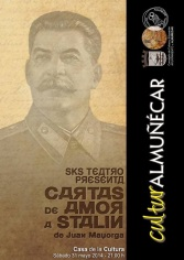 """SKS Teatro vuelve a la Casa de la Cultura con """"Cartas de amor a Stalin"""""""
