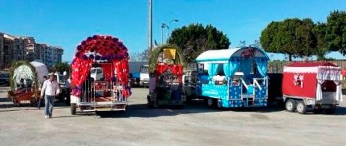 Carrozas y caballistas animarán la Romería de San Isidro de Almuñécar