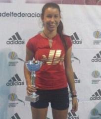 Helga García Ortuño campeona cadete en el TyC Premium 2 Adidas