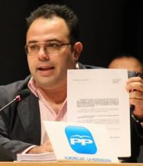 Juan José Ruiz Joya, primer Teniente Alcalde y portavoz del Grupo Popular en el Ayuntamiento de Almuñécar