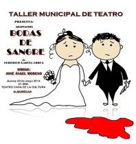 """El Taller Municipal de Teatro presenta este jueves """"Bodas de Sangre"""""""