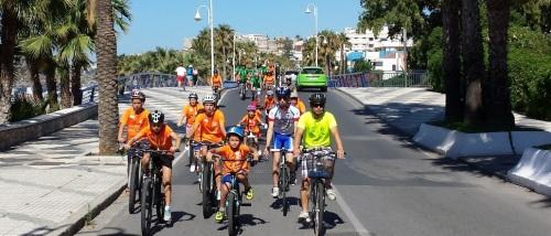 Más de medio centenar de ciclistas disfrutaron de la marcha cicloturista