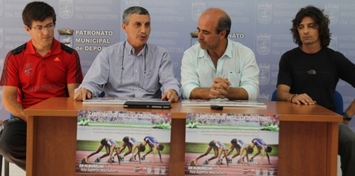 Acto de presentación del Campeonato de Atletismo Alevín Infantil y Veteranos que se celebra en Almuñécar