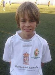 El jugador herradureño benjamín Adrián Ruiz Garciolo