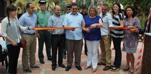 La alcaldesa, Trinidad Herrera, inaugura la XVI Feria Gastronómica de Almuñécar