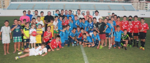 """El Almuñécar 77 campeón del II Torneo de Futbol Alevín """"Memorial José Ángel Franco Novo"""""""