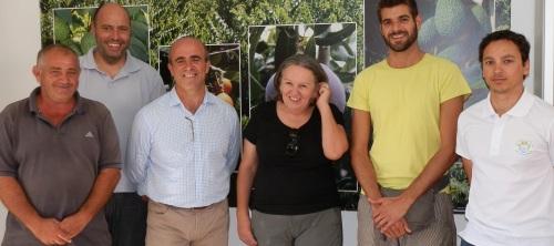 Almuñécar firma un convenio de colaboración con la UGR para investigación sobre cultivos subtropicales