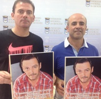 """Bruno Alaminos y Luis Aragón presentan el II Torneo de Fútbol Alevín Memorial """"José Ángel Franco Novo"""""""