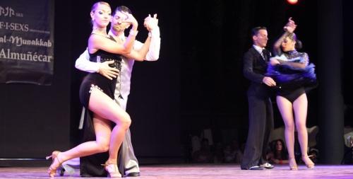 Almuñécar celebró con éxito el III Trofeo Internacional de bailes de salón