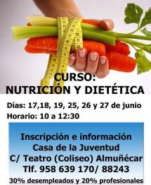 Abierto el plazo de inscripción para un curso de nutrición y dietética