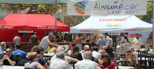 Una veintena de negocios participan en la XVI Feria Gastronómica
