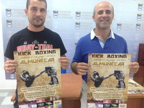 Fermín Rodríguez y Luis Aragón presentan la velada de Kick Boxing