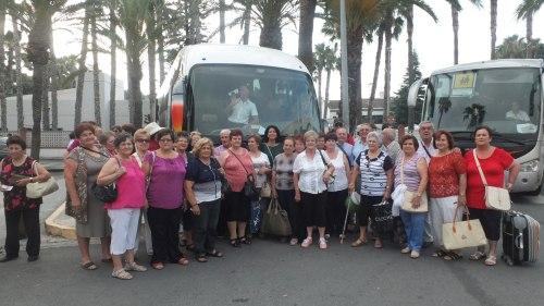 Semana de vacaciones para 52 mayores sexitanos en la Línea de la Concepción