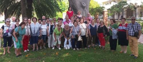 Mayores sexitanos disfrutan de unos días conociendo el Campo de Gibraltar